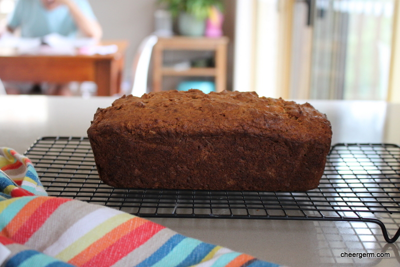 Squishy Banana Bread : Soft ricotta banana bread, gluten free The Cheergerm & the Silly Yak